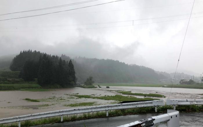真室川 水害