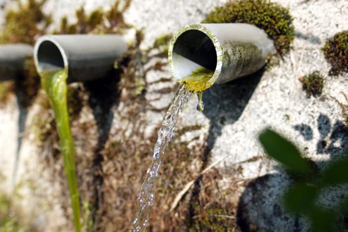 山の天然水